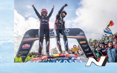 Hyundai Motorsport remporte le Rallye Monte-Carlo